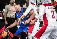 دومین شکست دختران بسکتبالیست در جام جهانی