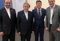 دیدار کمیته ملی المپیک ایران با رییس فدراسیون جهانی دوومیدانی