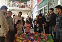 شهر کتاب به کمک کودکان آسیبدیده از سیل رفت
