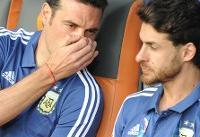 اعتراف سرمربی آرژانتین در رابطه با جریمه شدنش