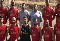 تیم ملی هندبال ساحلی ایران به مقام سوم آسیا رسید
