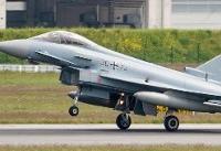 سقوط دو هواپیمای نظامی آلمان بر اثر برخود با یکدیگر