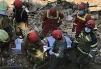 ریزش مرگبار ساختمانی در وردآورد/ خارج کردن دو تن از زیر آوار