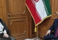 دیدار و گفتگوی سفیر جدید قزاقستان با سفیر کشورمان در عمان