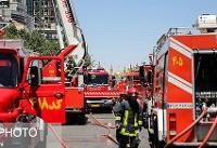 آتشسوزی در هتل قصر مشهد / حریق مهار شد