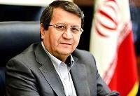 همتی: صادرات نفت ایران در حال افزایش است