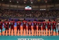 برنامه مسابقات تیم ملی والیبال در جام جهانی