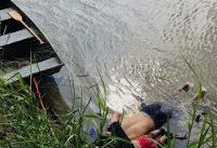 How lifeless body of toddler came to be slumped by dead father in river on US-Mexico border