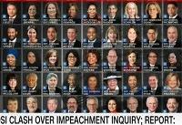 ۸۰ نماینده کنگره آمریکا خواستار عزل و محاکمه ترامپ شدند