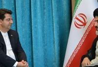 دیدار سخنگوی وزارت خارجه با امام جمعه ارومیه