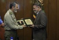 تقدیر امیر موسوی از پنج فرمانده پیشکسوت ارتش