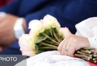 زوجهای نیازمند با حمایت کمیته امداد به خانه بخت رفتند