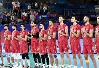 تیم ملی والیبال ایران عصر سهشنبه وارد اردبیل میشود