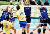 بازگشت ایران به بازی با پیروزی در ست سوم برابر برزیل