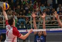 شکست تیم ملی والیبال ایران برابر لهستان در ست دوم