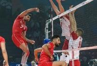 فینال لیگ ملتهای والیبال / ایران ۱ – لهستان صفر