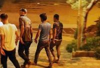 پاکسازی پارک دانشجو از خرده فروشان مواد مخدر