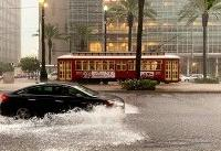 Heavy rains flood New Orleans streets in taste of storm ahead