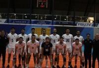 برد والیبال دانشجویان ایران در یونیورسیاد پس از ۴ شکست