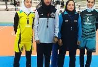 شاهرود قهرمان مسابقات والیبال دسته دو نوجوانان دختر کشور شد