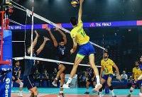 ورقِ بازی برگشت/ پیروزی ایران در ست چهارم برابر برزیل