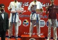 ورزشکاران لرستانی در نخستین مرحله لیگ کاراته وان ایران درخشیدند