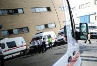 احتمال فوت ۶ نفر در برخورد یک اتوبوس با سواری نفتکش