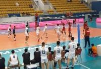 پیروزی تیم والیبال جوانان ایران مقابل بحرین در دیدار تدارکاتی