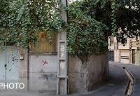 ساماندهی ۵۰۰ متر مربع فضای بی دفاع شهری در محله اتابک تهران