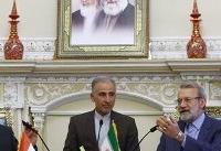 لاریجانی: جریانهای سیاسی ایران به دلیل رفتار آمریکاییها بیش از هر زمان دیگر متحد شدند