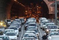 حجم بارترافیکی در محورهای غرب به شرق بزرگراههای پایتخت