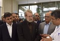 رئیس مجلس شورای اسلامی از یک واحد تولید فروکتوز بازدید کرد