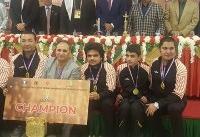 اهداء جام قهرمانی شطرنج شهرهای آسیا به سایپا