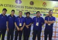 قهرمانی تیم سایپا در مسابقات شطرنج شهرهای آسیا