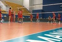 پیروزی والیبالیستهای جوان ایران مقابل تونس