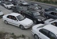 ترافیک در آزادراه تهران_کرج و بالعکس نیمه سنگین است