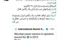 آمریکا برای توقف فعالیت یک رآکتور ایران احساس خفگی میکند