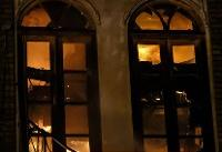 دلیل آتشسوزی میدان تاریخی حسنآباد از زبان عضو شورای شهر
