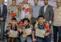 بازگشت تیم شطرنج سایپا به ایران با استقبال مسئولین