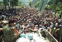 The Latest: Relatives of victims condemn Srebrenica ruling