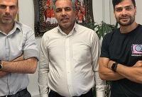 عرب با بازیکنان پرسپولیس دیدار کرد