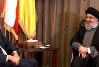دیدار «امیرعبداللهیان» با دبیرکل حزب الله لبنان در بیروت
