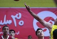 قهرمانی جوانان بسکتبال ایران در تورنمنت بینالمللی زنجان