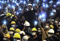 Hand signals and Post-its: The Hong Kong protester playbook
