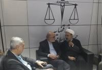بازدید رییس سازمان بازرسی کل کشور از غرفه قوه قضاییه در الکامپ