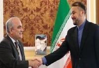 امیر عبداللهیان با سفیر روسیه در تهران دیدار کرد