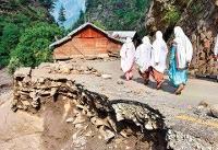 سیل در شمال پاکستان ۳۰ کشته و زخمی بهجا گذاشت