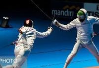 تیم شمشیربازی سابر ایران به نیمه نهایی قهرمانی جهان نرسید