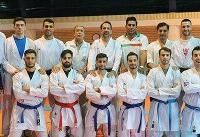 کاراته ایران نایب قهرمان قارهکهن شد