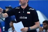 عطایی: باخت به روسیه تلنگری به تیم ملی والیبال بود